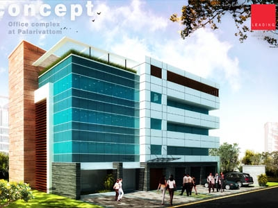 Leading Design Architectural Studio OFFICE BUILDING