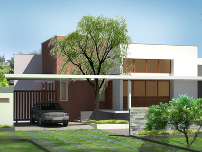 Leading Design Architectural Studio VALIYAPERUMPUZHA HOUSE