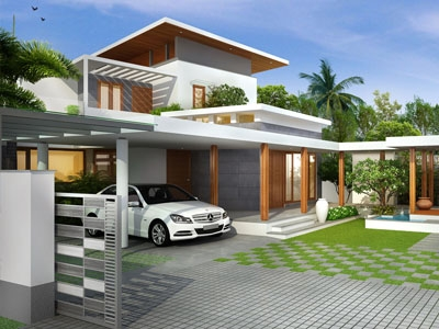Leading Design Architectural Studio PARIPPALLY HOUSE