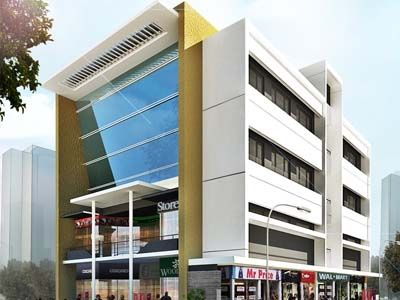 Leading Design Architectural Studio COMMERCIAL COMPLEX